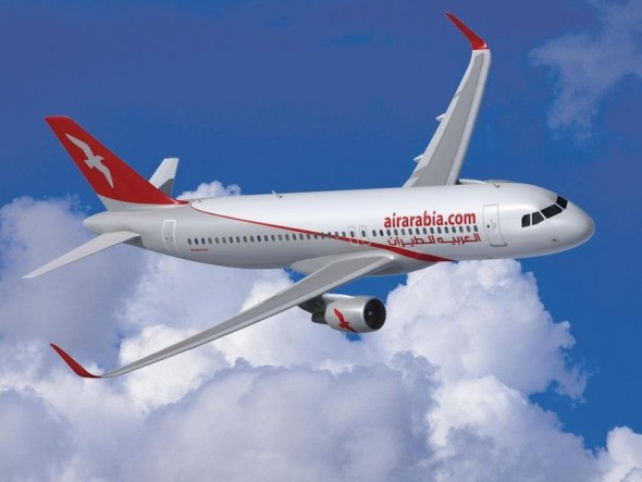 Air Arabia Airbus A320 with Sharklets