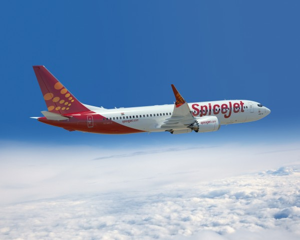 SpiceJet 737 MAX8