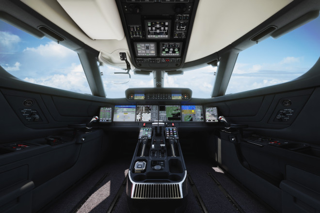 Gulfstream G500 Flight Deck