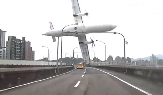 TransAsia Airways GE235 Plane Crash