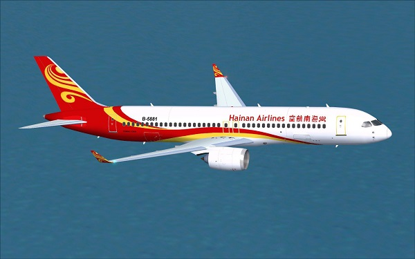 Hainan Airlines Comac C919 V2