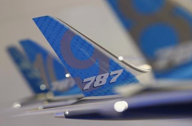 Boeing 787 Dreamliner Tail