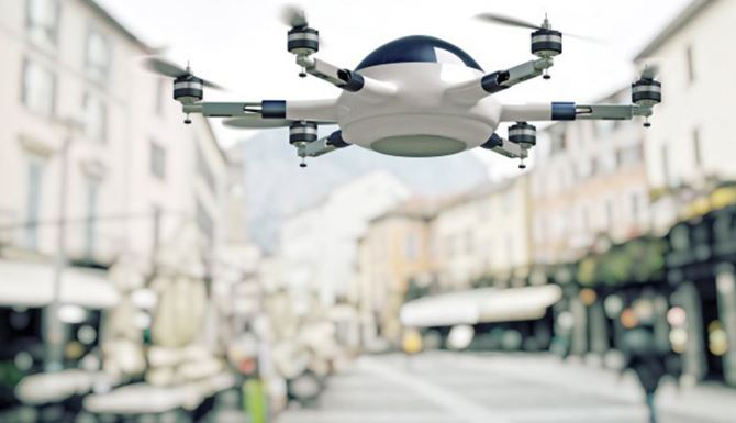 Airbus Parcel Delivery Drone